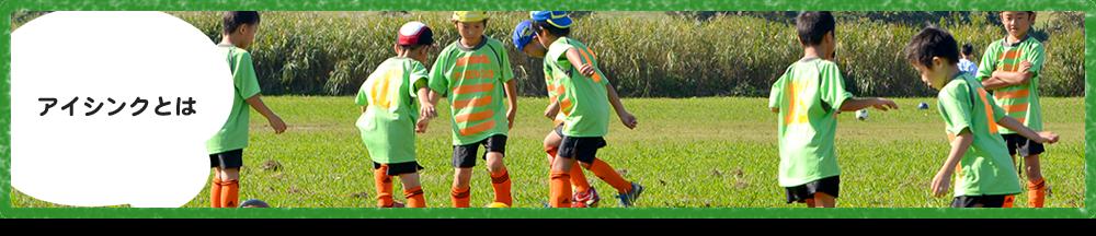 アイシンクについて 川口市 サッカーチーム スクール 少年 小学生 子供 こども ジュニア グリーンカードリーグ アイシンク