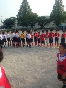 川口アイシンク少年サッカー小学五年生大宮春岡練習試合