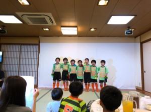 卒団式川口アイシンク少年サッカ‐鳩ヶ谷市小学生一二三四五六年幼児クラブチーム