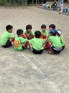 紅白戦川口鳩ヶ谷市小学生一二三四五六年幼児クラブチーム
