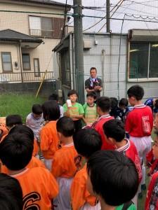 慈林招待大会川口鳩ヶ谷市小学生一二三四五六年幼児クラブチーム
