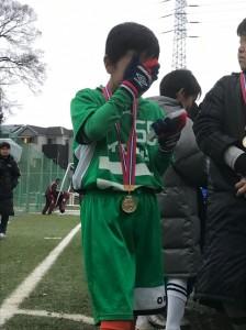 サンタカップ優勝川口鳩ヶ谷市小学生一二三四五六年幼児クラブチーム